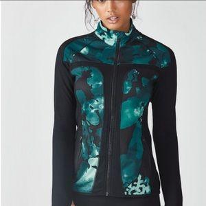 Fabletics Jojo Nocturnal Floral Jacket Medium